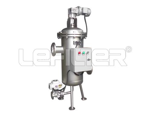 filtro de agua municipal automático de a