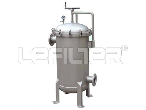 Caja de filtro de bolsa de acero inoxidab