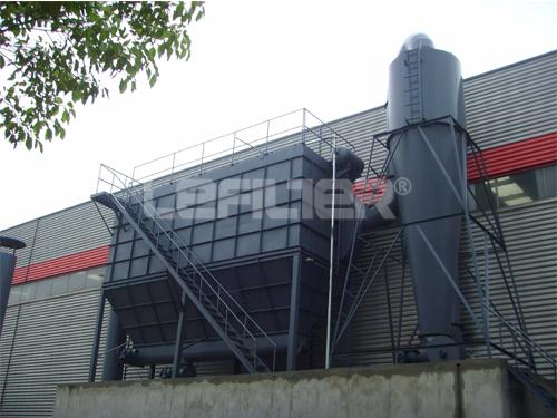 Colector de polvo industrial de tipo Pulv